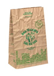 Compostable Cellophane Lined Paper Bags