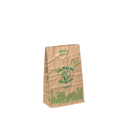 Green Packaging for Kitchen Food Waste